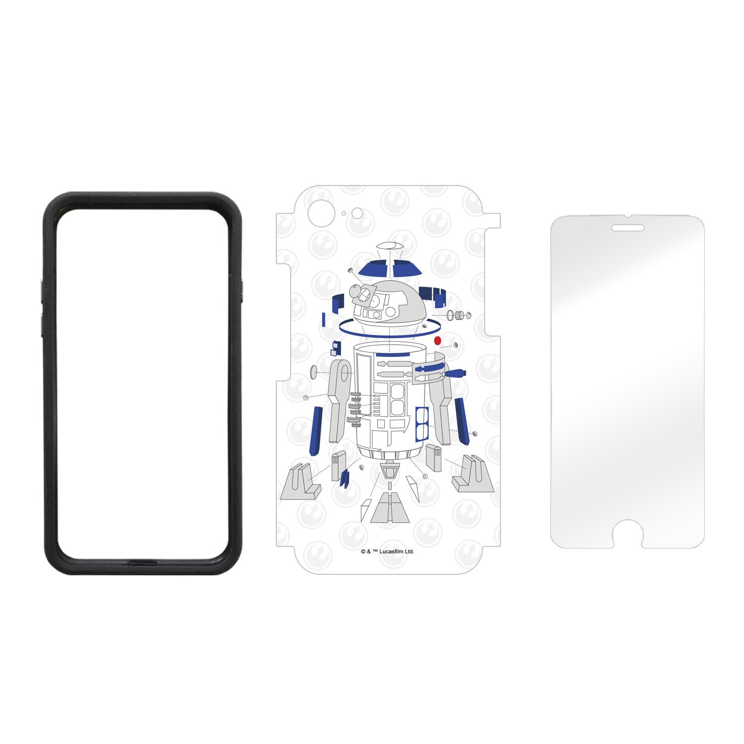 TLJ Deconstructed R2-D2 iPhone 7 & 8 Wrap Kit 2