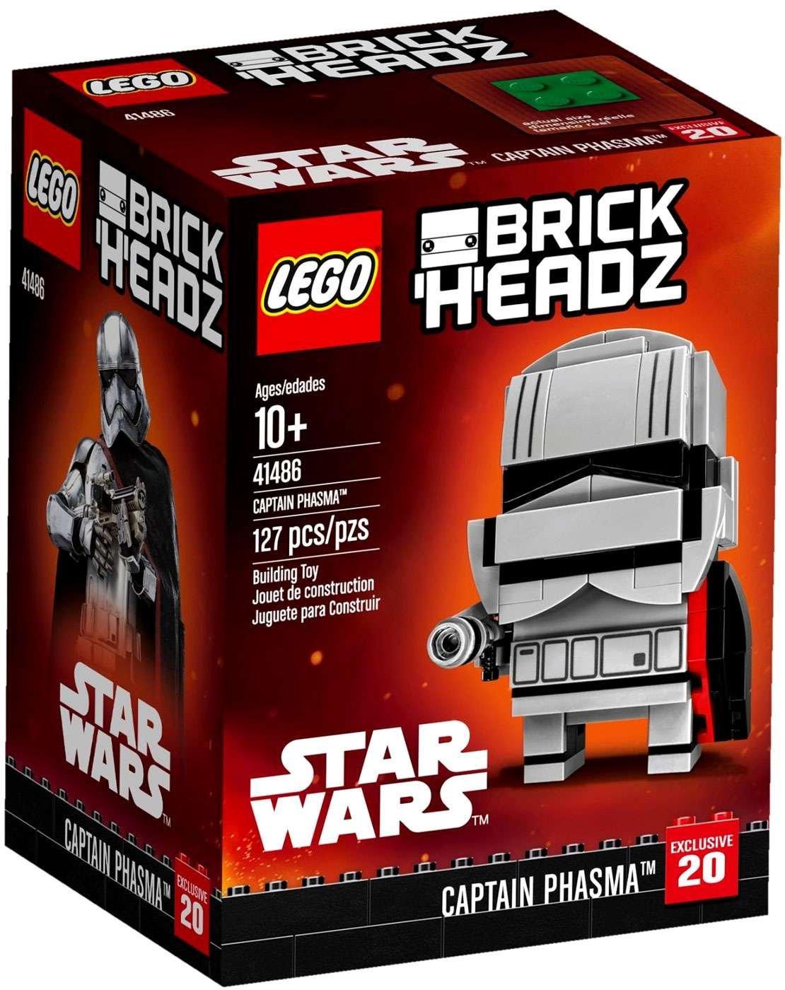FA Captain Phasma Lego BrickHeadz Set