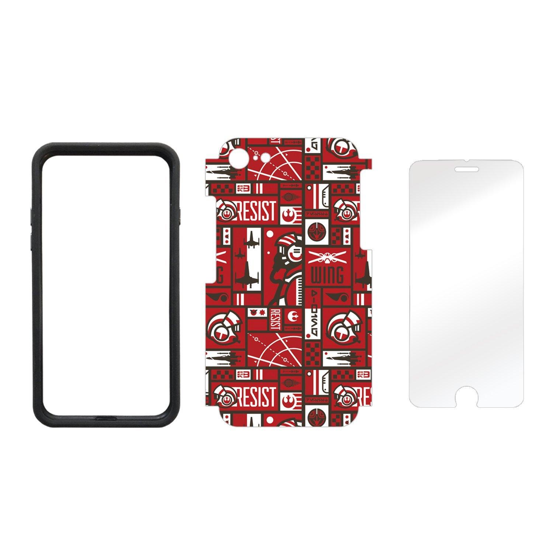 TLJ Resistance Pattern iPhone 7 & 8 Wrap Kit 2
