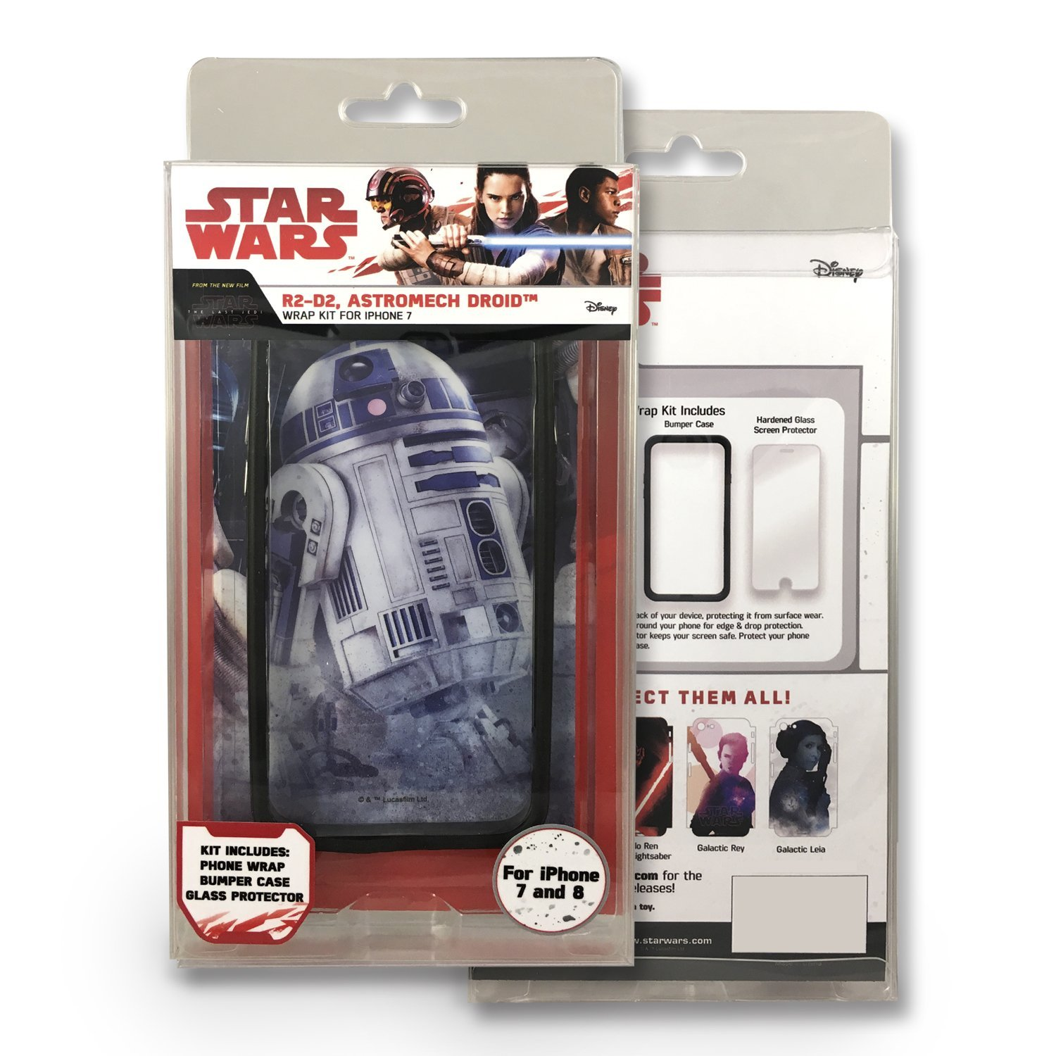 TLJ R2-D2 Astromech Droid iPhone 7 & 8 Wrap Kit 1