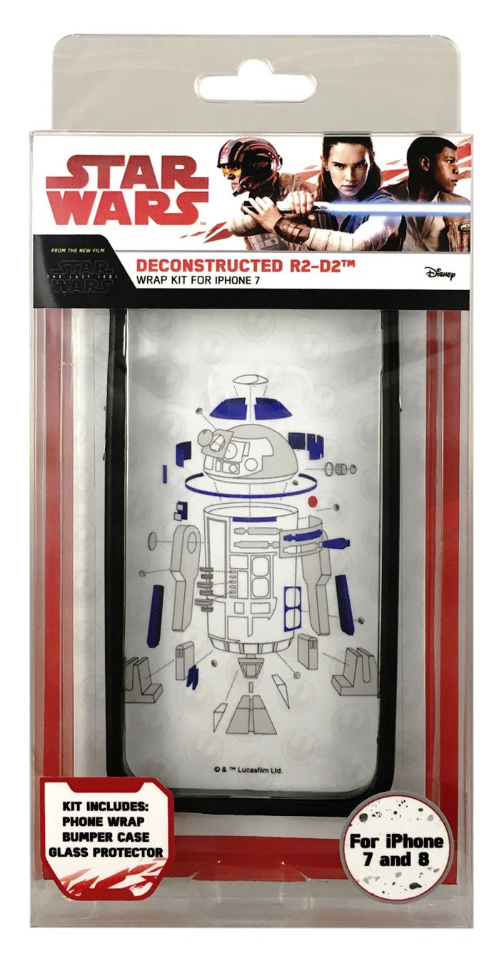 TLJ Deconstructed R2-D2 iPhone 7 & 8 Wrap Kit 1