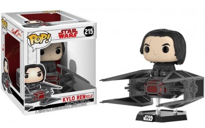 New Last Jedi Funko Pop! Kylo Ren With Tie Fighter Figure Set available on Amazon.com