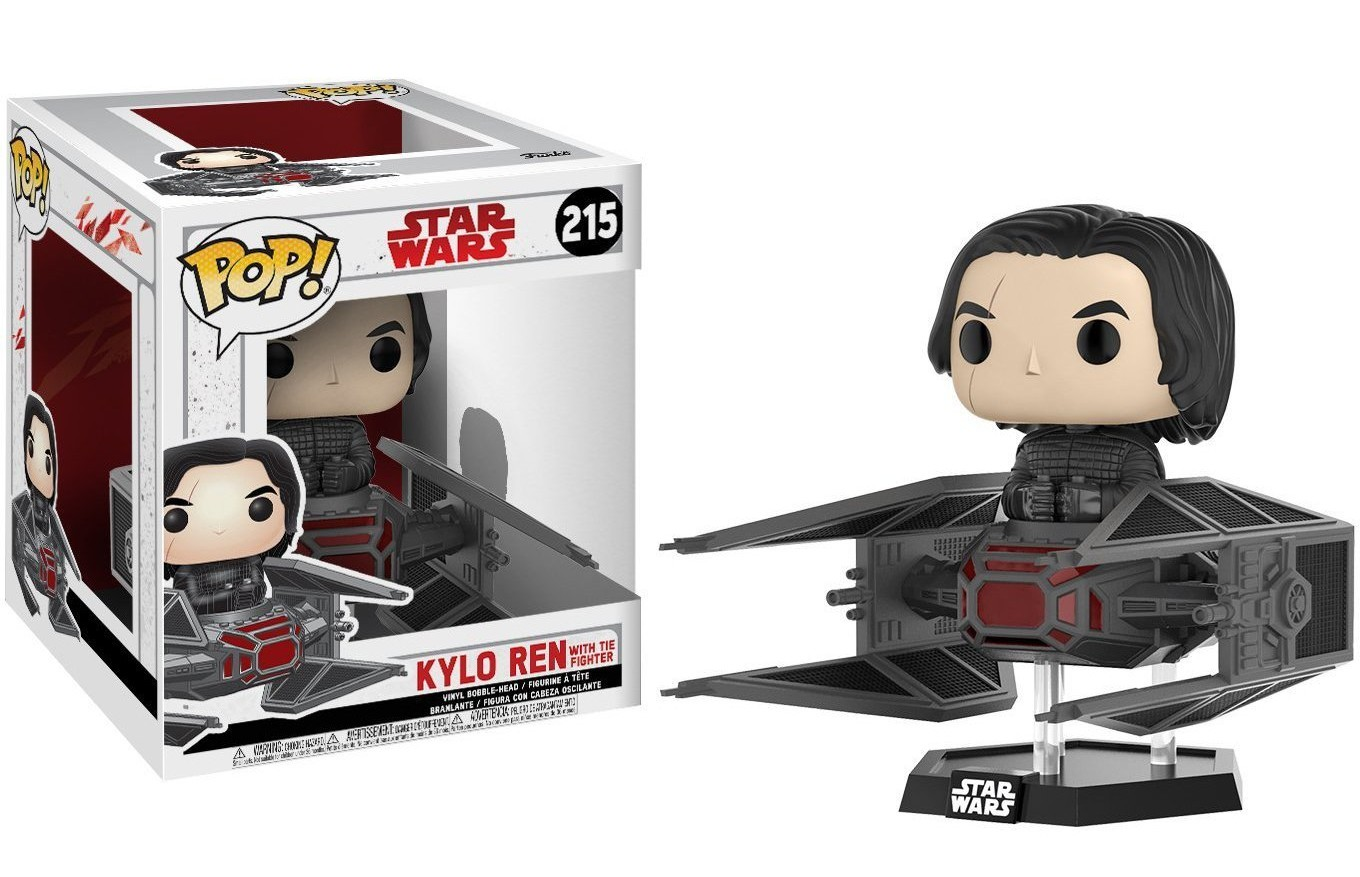 TLJ Funko Pop! Kylo Ren With Tie Fighter Figure Set