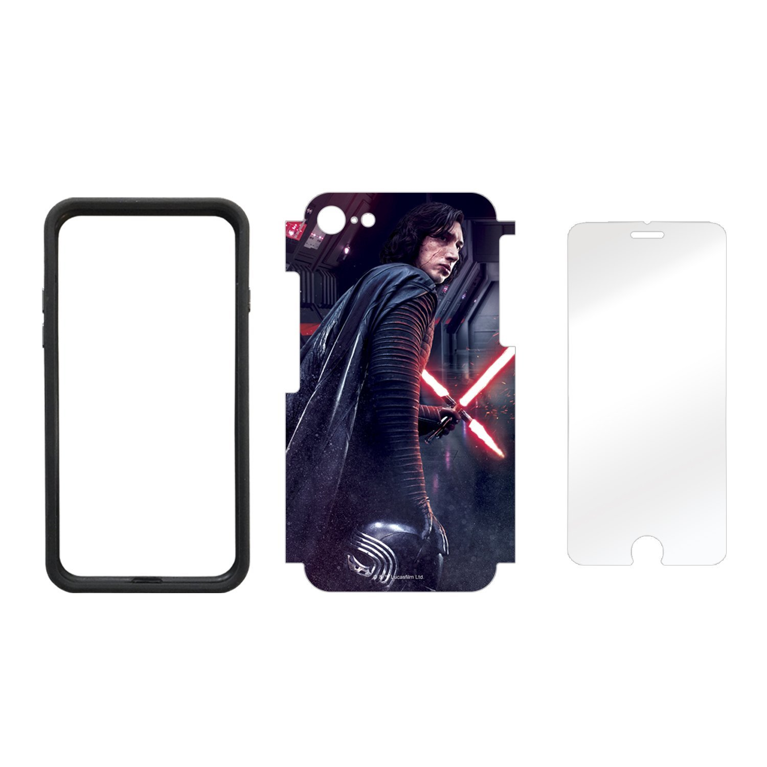 TLJ Battle-Ready Kylo Ren iPhone 7 & 8 Wrap Kit 2