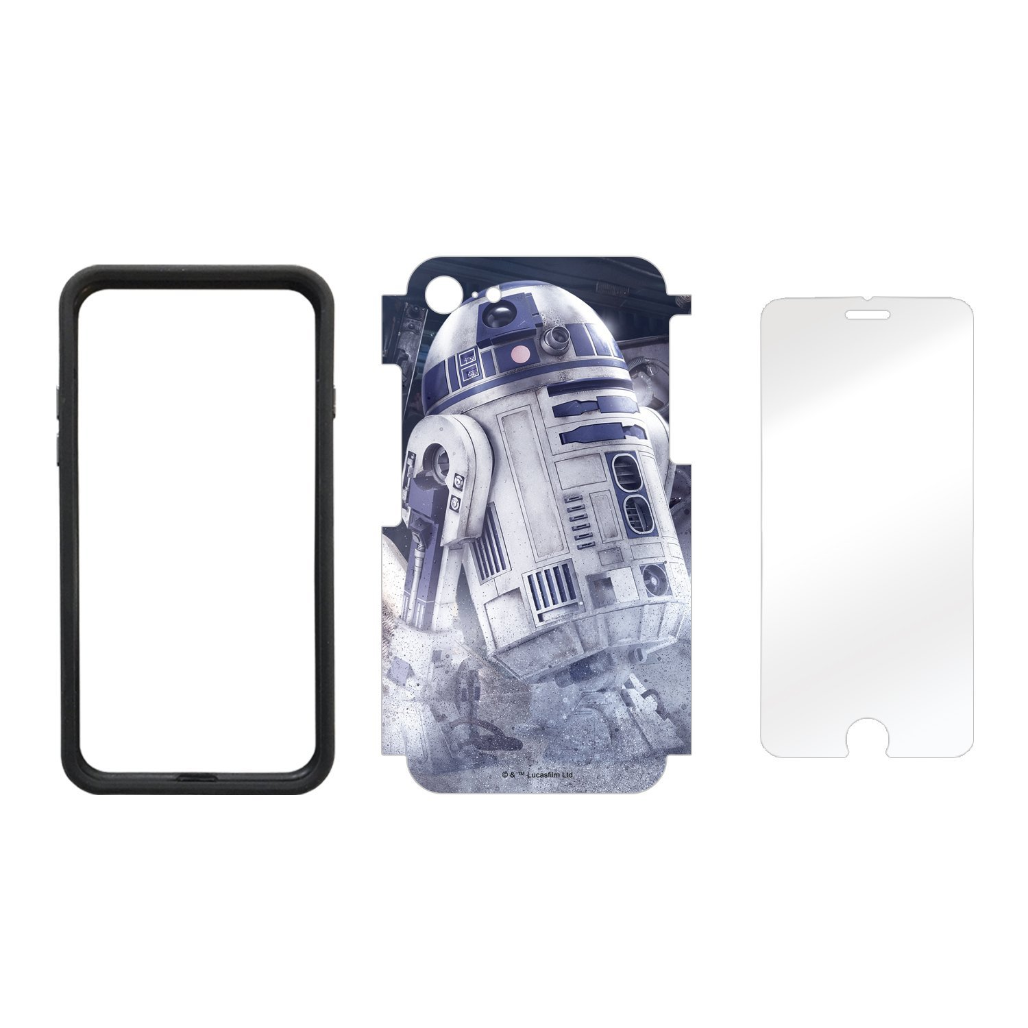 TLJ R2-D2 Astromech Droid iPhone 7 & 8 Wrap Kit 2