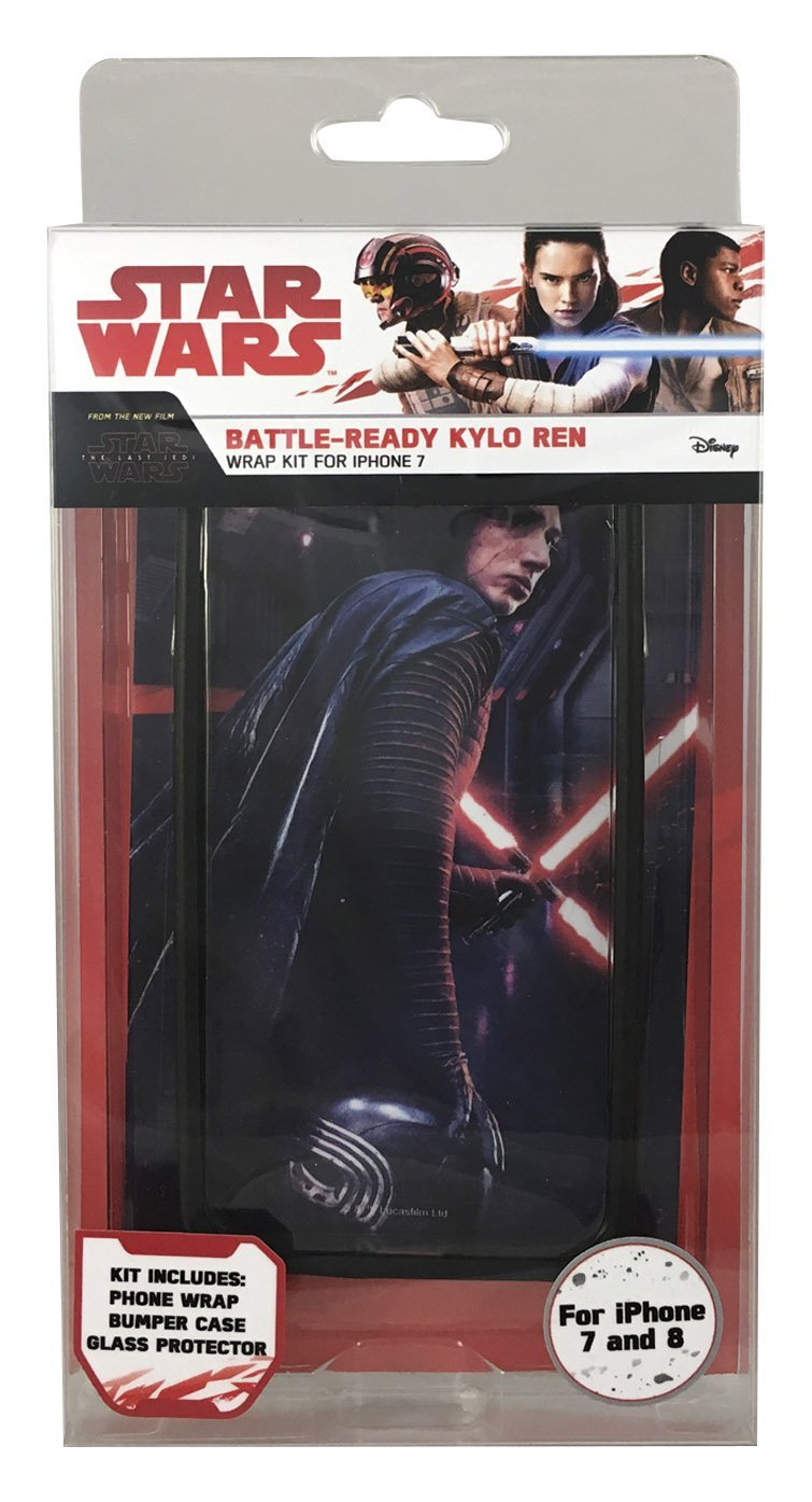 TLJ Battle-Ready Kylo Ren iPhone 7 & 8 Wrap Kit 1