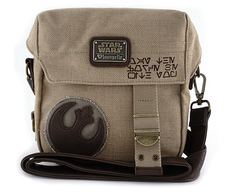New Last Jedi Rey Rebel Crossbody Purse available on Amazon.com