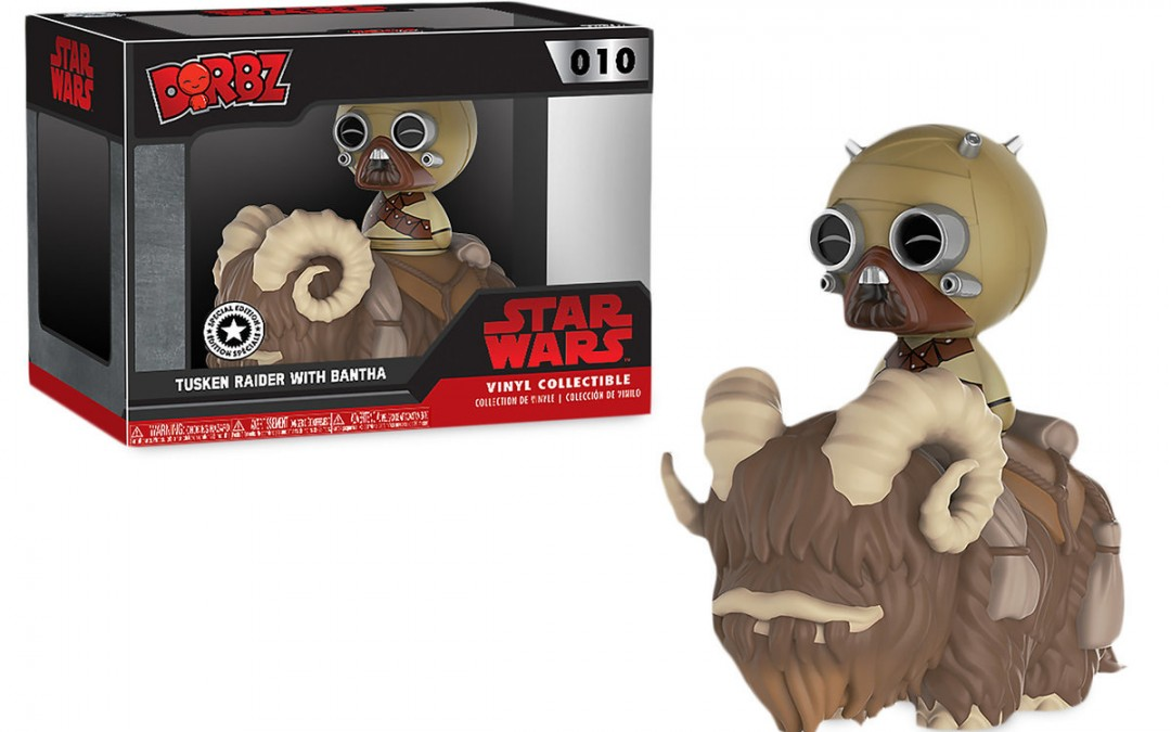 New A New Hope Tusken Raider with Bantha Dorbz Vinyl Figure Set available on ShopDisney.com