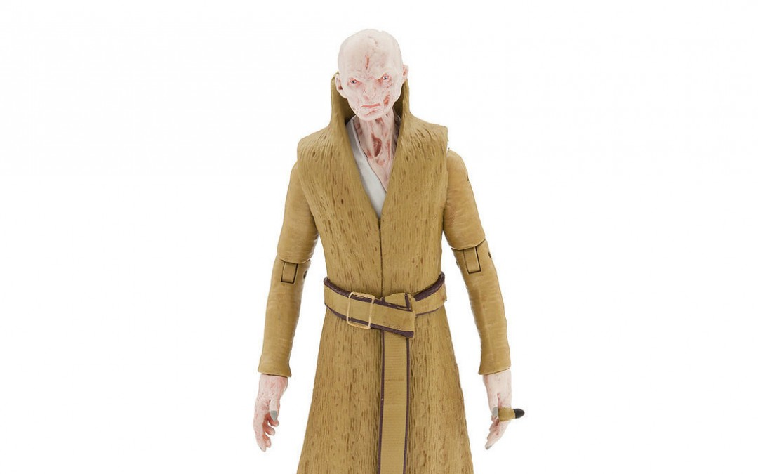 New Last Jedi Supreme Leader Snoke Elite Series Die Cast Figure available on ShopDisney.com