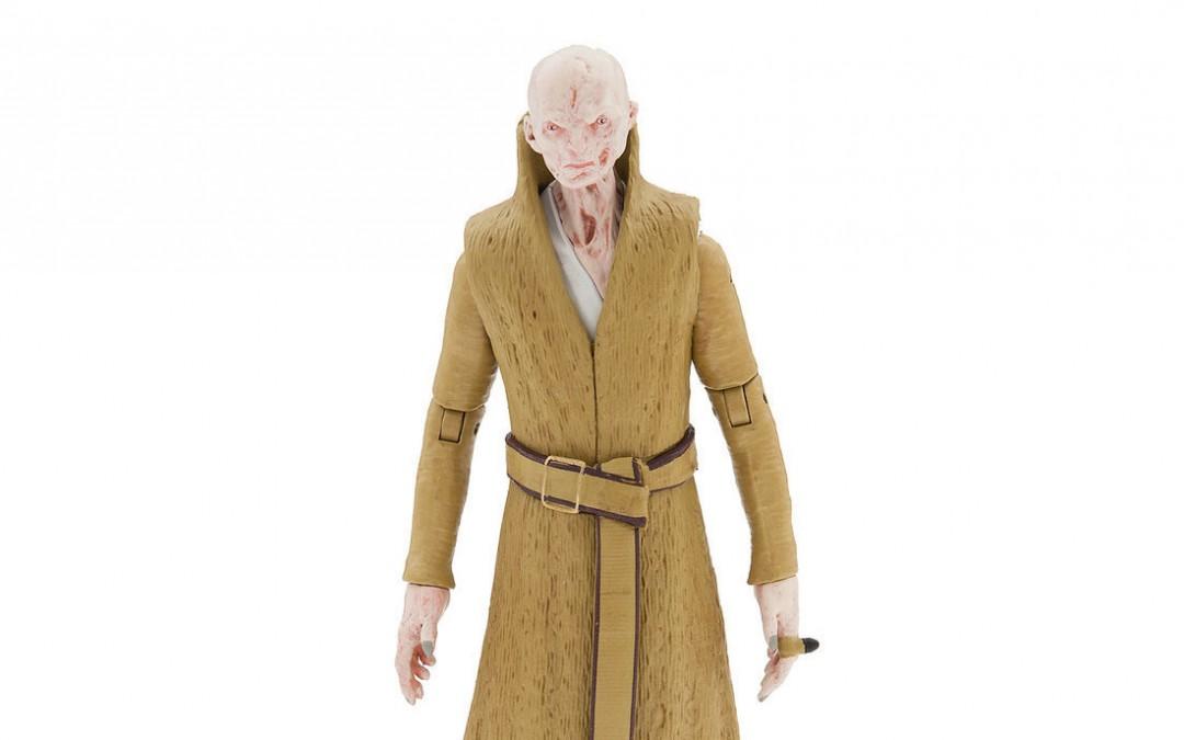 New Last Jedi Supreme Leader Snoke Elite Series Die Cast Figure available on Walmart