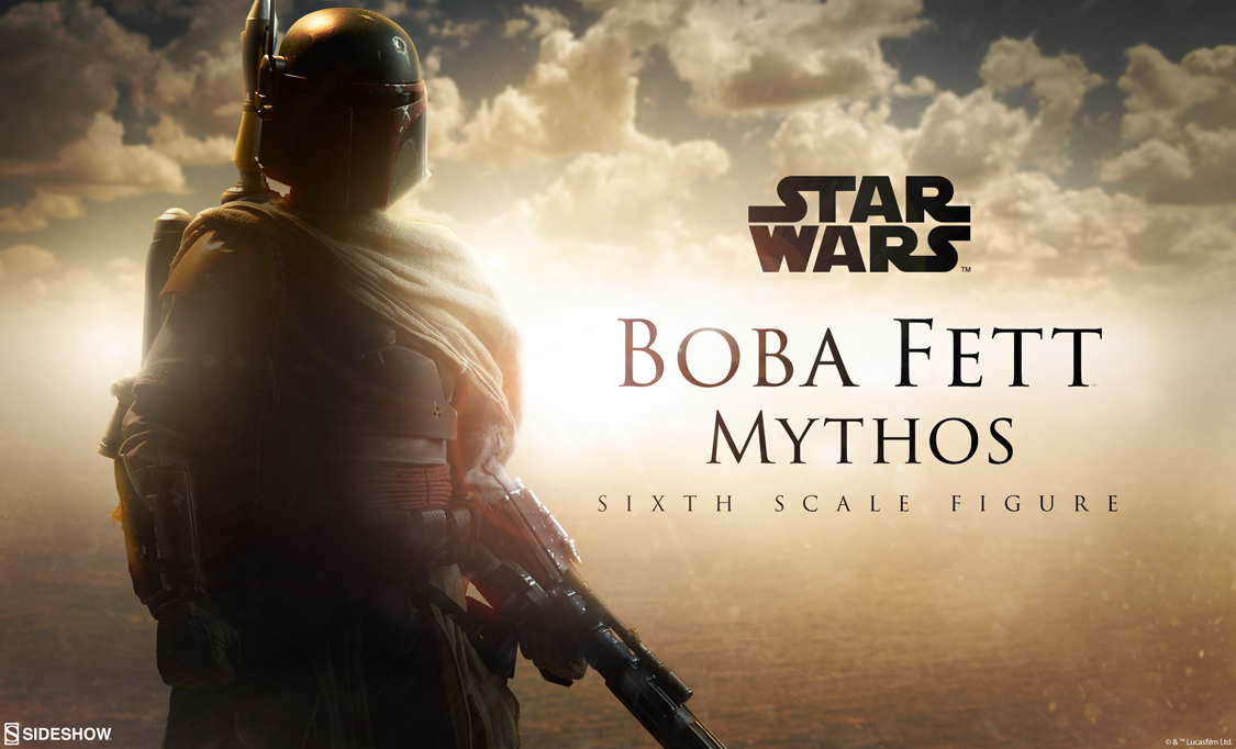 1/6th Scale Boba Fett Mythos Figure Preview Photo