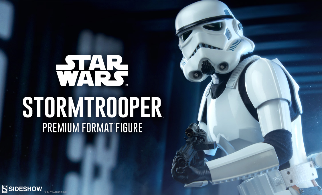 Imperial Stormtrooper Premium Format Figure Preview Photo
