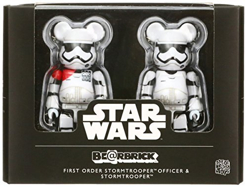 FA First Order Stormtrooper Officer & First Order Stormtrooper BE@RBRICK Figure 2-Pack 1