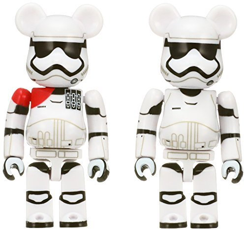 FA First Order Stormtrooper Officer & First Order Stormtrooper BE@RBRICK Figure 2-Pack 3
