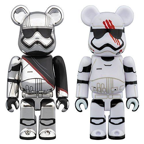 FA Captain Phasma & FN-2187 BE@RBRICK Figure 2-Pack