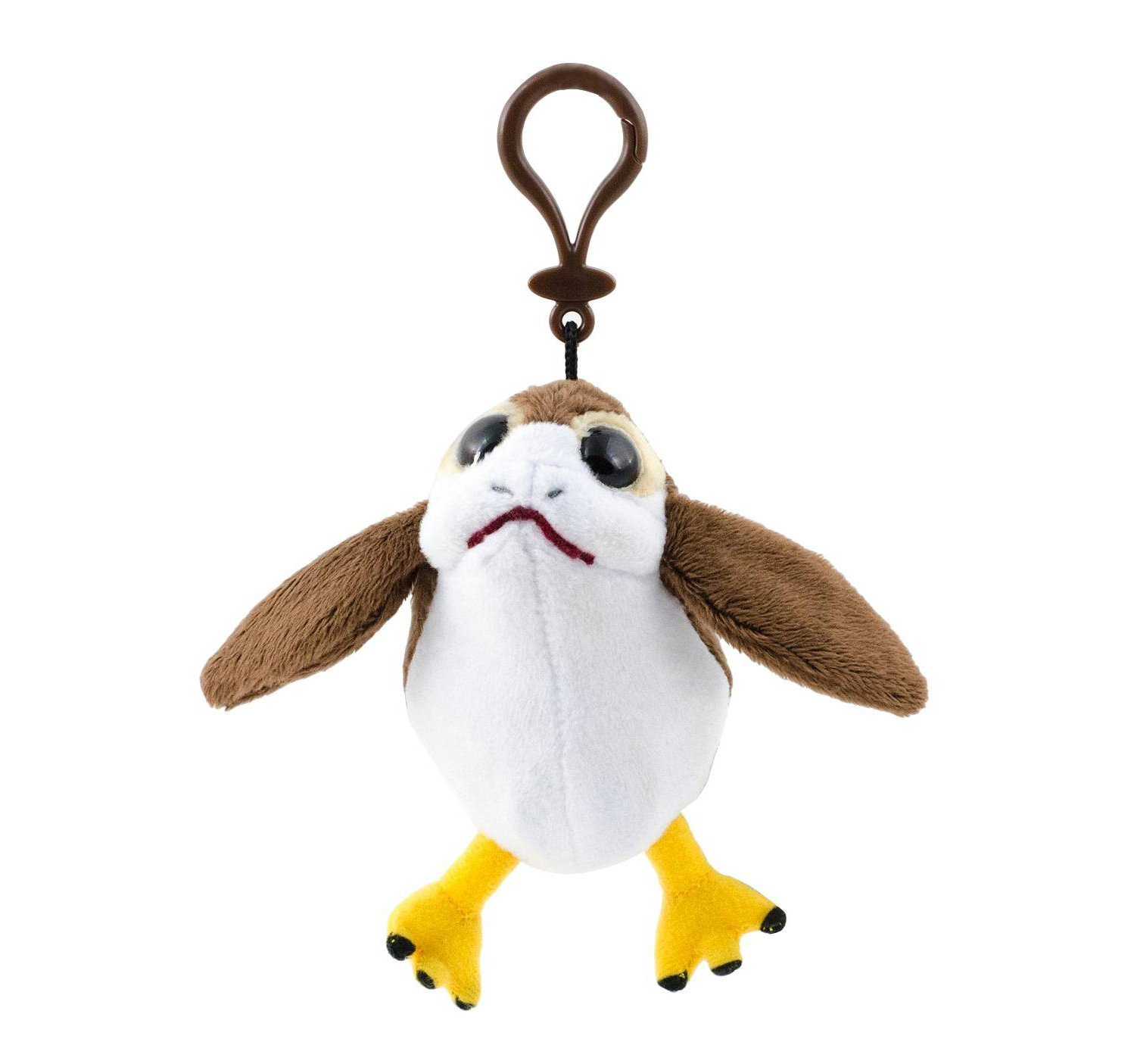 TLJ Porg Talking Plush Toy Backpack Clip
