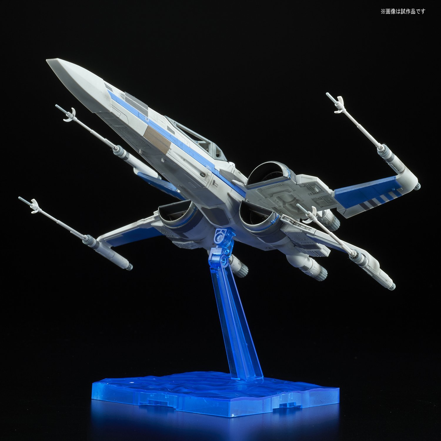 TLJ Blue Squadron Resistance X-Wing Fighter Model Kit 3