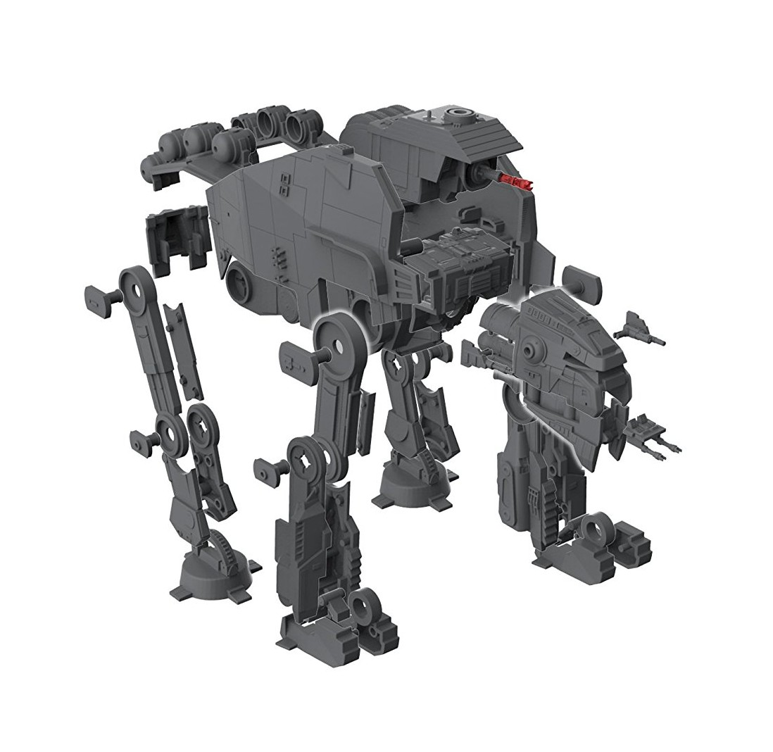 TLJ Build & Play First Order Heavy Assault Walker Sound & Light Up Model Kit 3