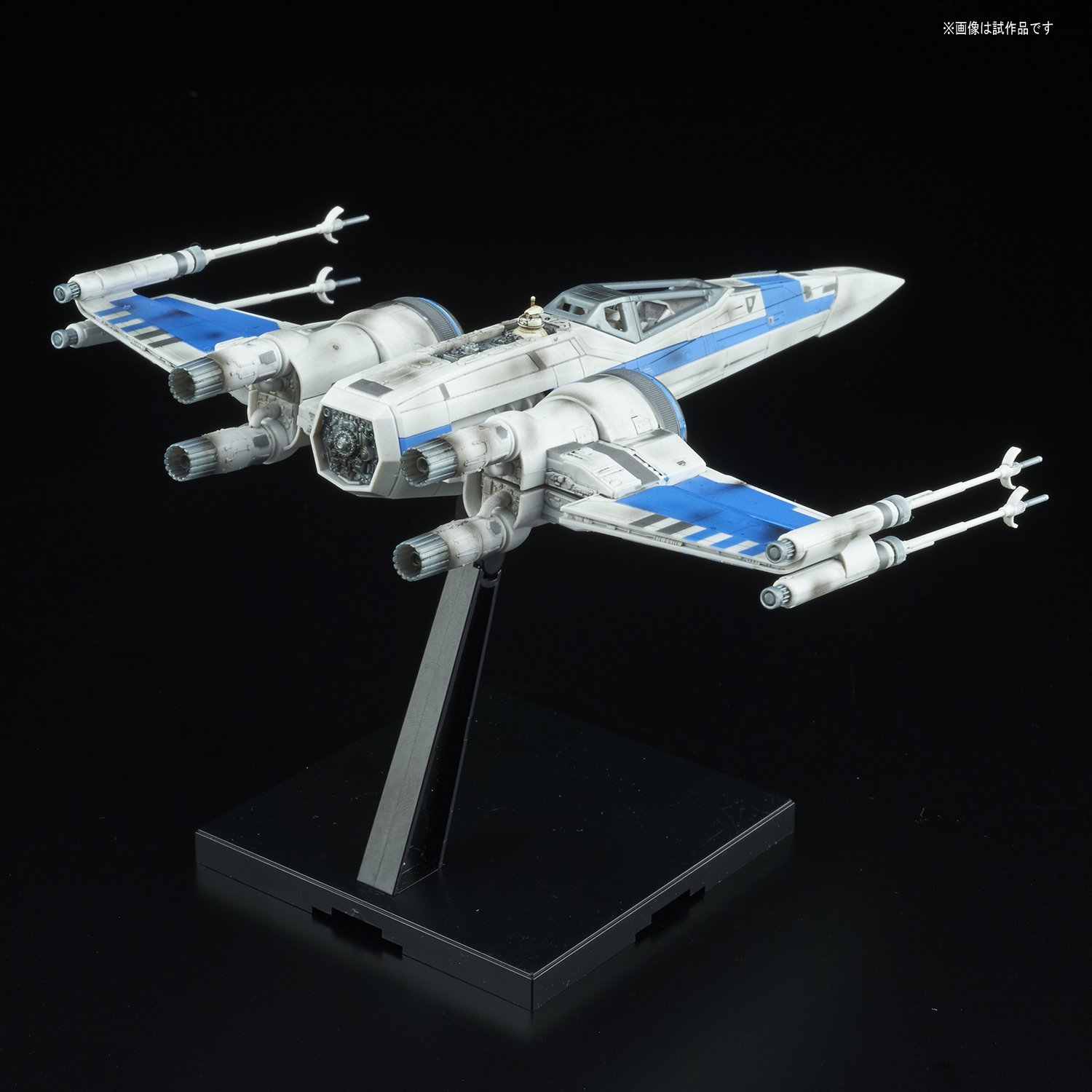 TLJ Blue Squadron Resistance X-Wing Fighter Model Kit 2