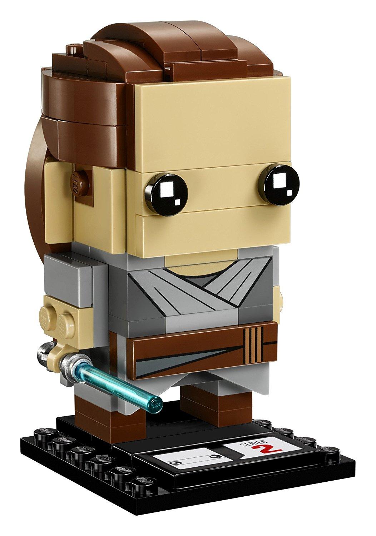 TLJ Brick Headz Rey Lego Set 3