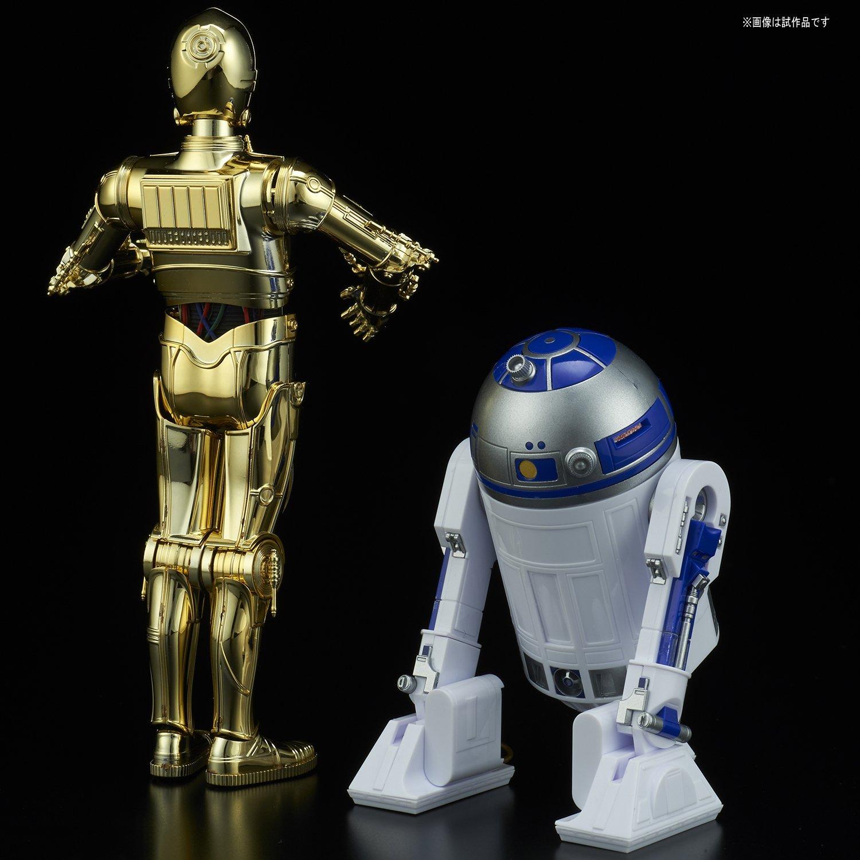 TLJ C-3PO & R2-D2 Model Kit Set 2