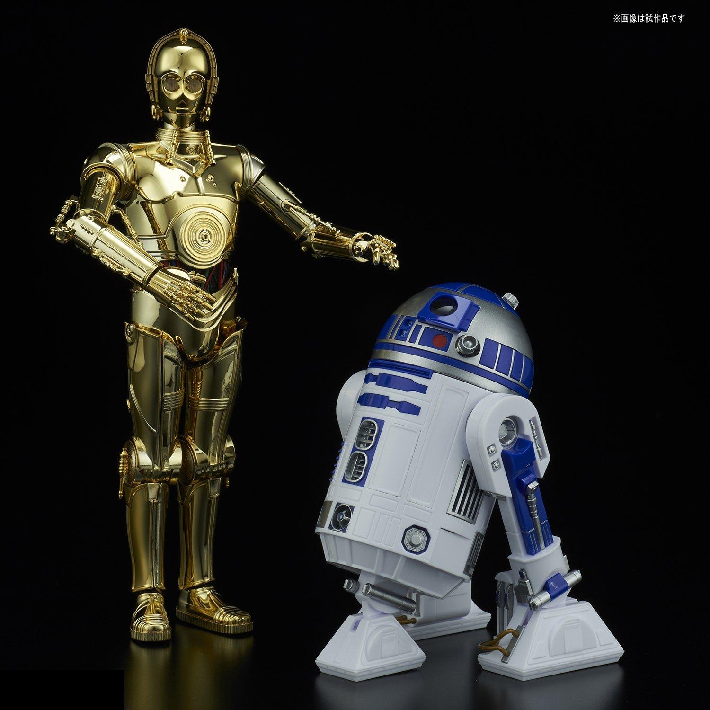 TLJ C-3PO & R2-D2 Model Kit Set 1