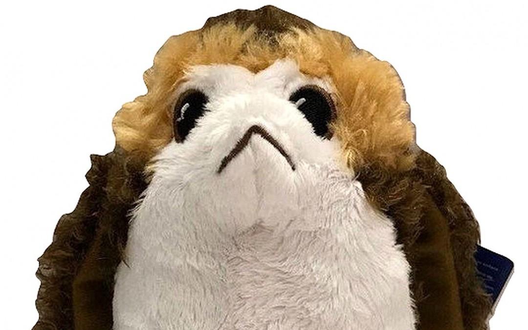 New Last Jedi Build a Bear Porg Bird Stuffed Plush Toy available on Amazon.com