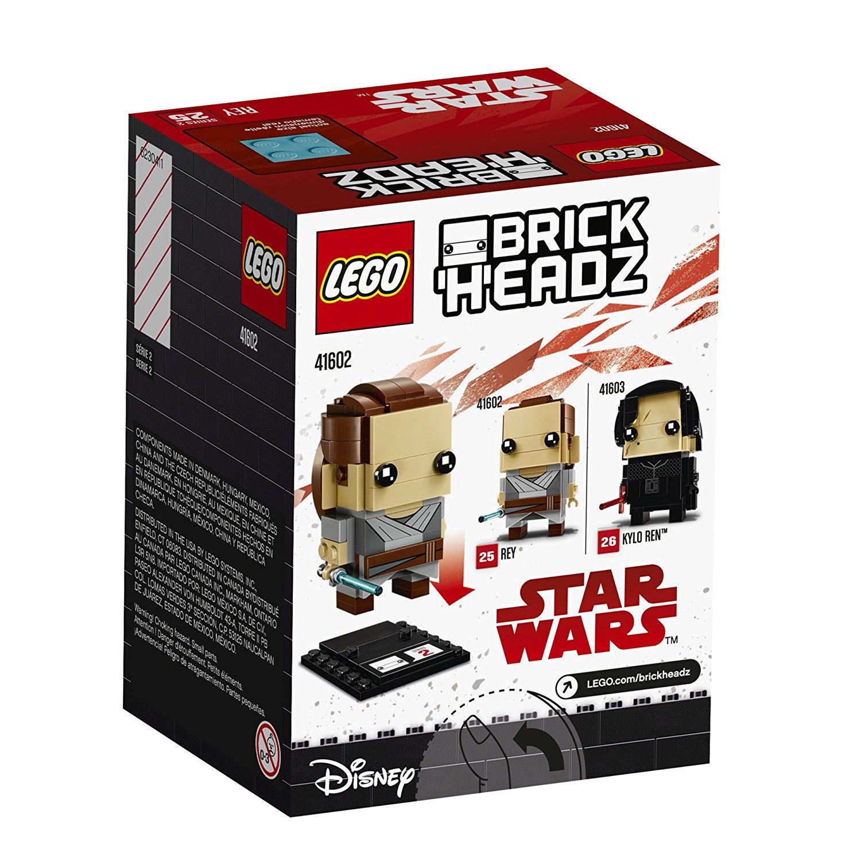 TLJ Brick Headz Rey Lego Set 2