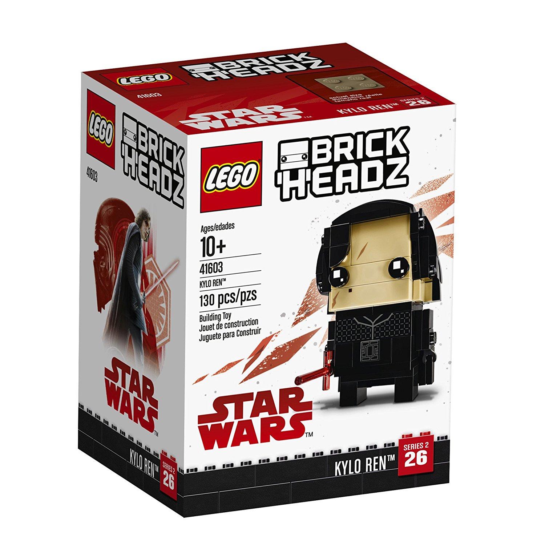 TLJ Brick Headz Kylo Ren Lego Set 1
