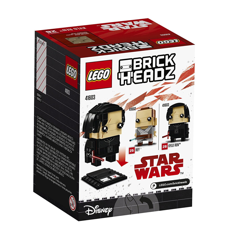 TLJ Brick Headz Kylo Ren Lego Set 2