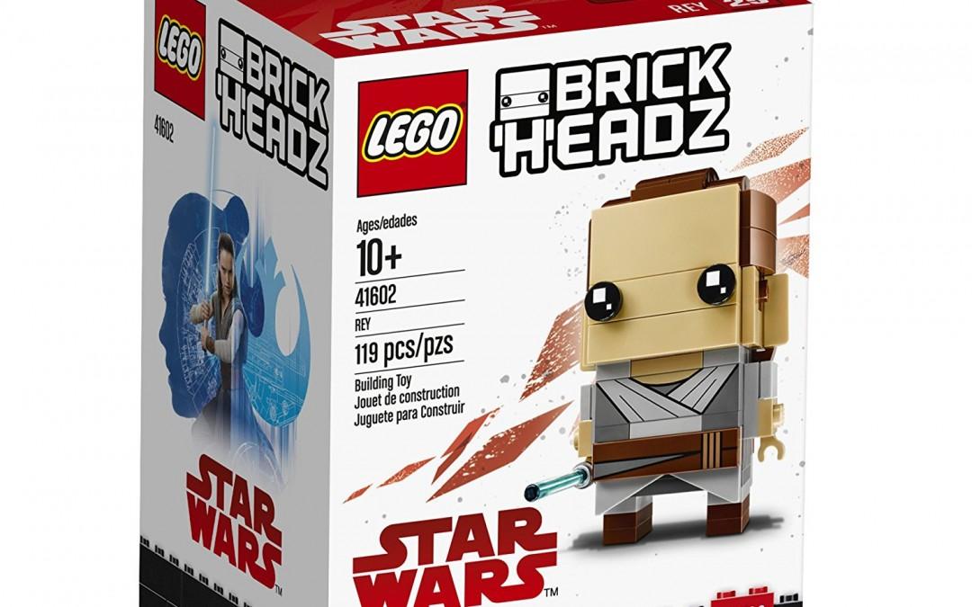 New Last Jedi Brick Headz Lego Sets Rundown!