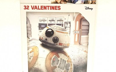 New Last Jedi Valentines Day Card Set available on Amazon.com