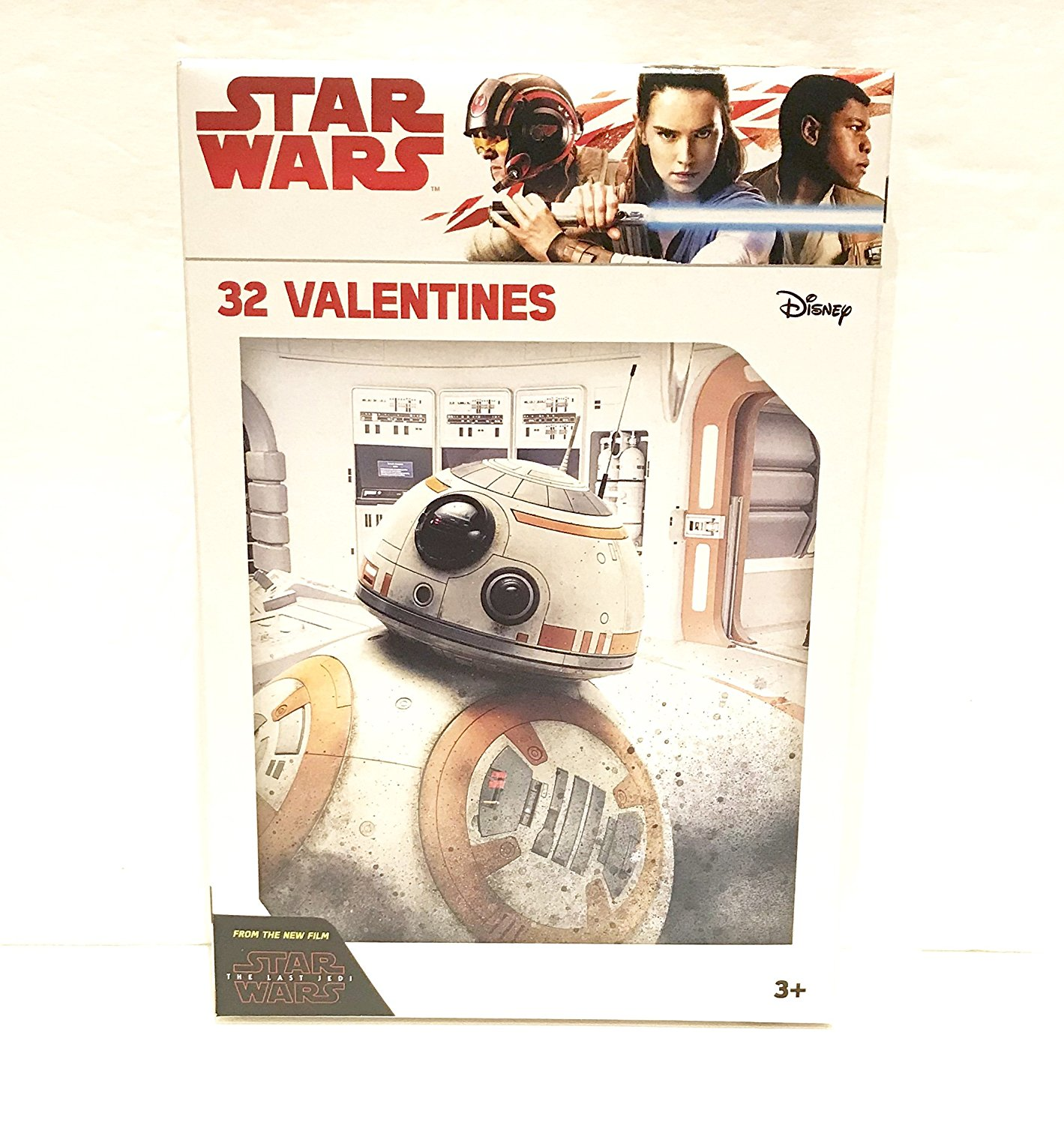 TLJ Valentines Day Card Set