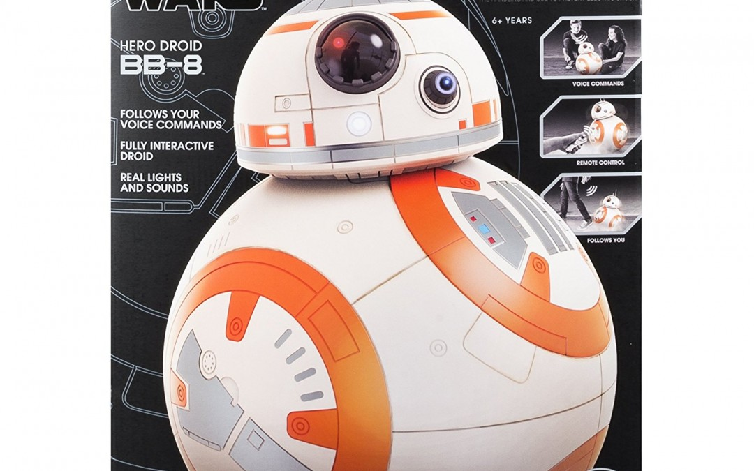 New Last Jedi Voice Activated BB-8 Toy available on Walmart.com