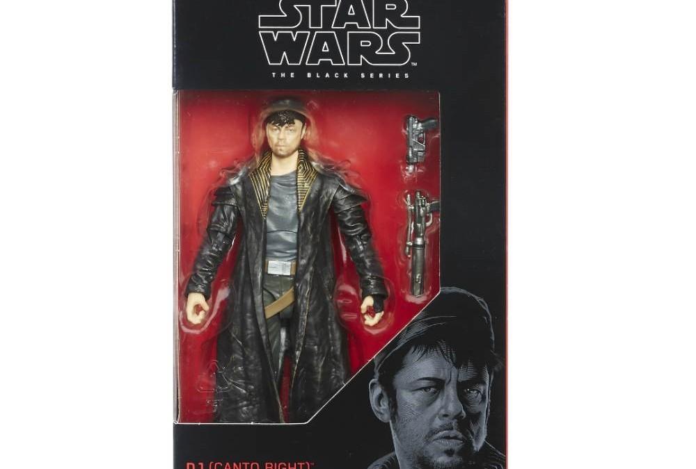 "New Last Jedi 6"" Black Series DJ (Canto Bight) Figure available on Amazon.com"
