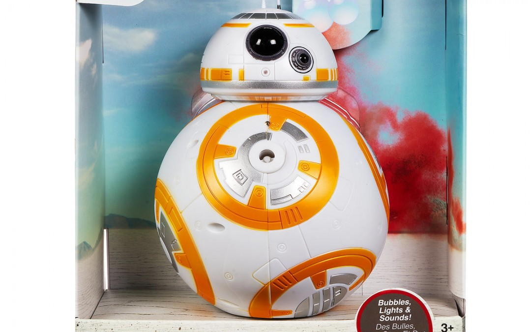 New Last Jedi BB-8 Bubble Blower available on Walmart.com