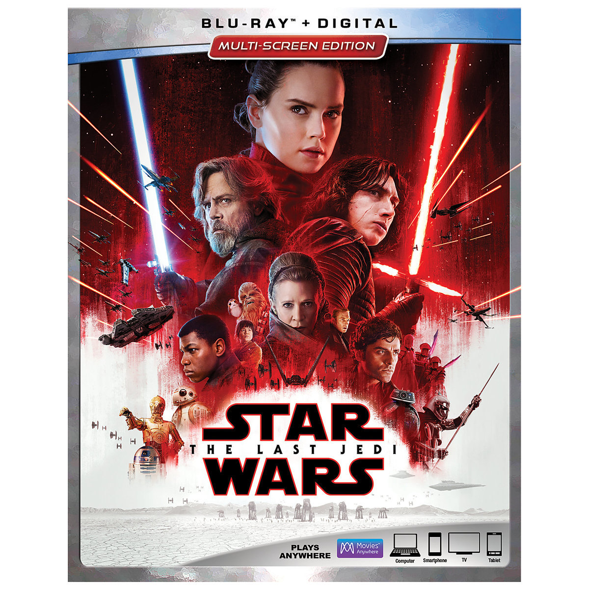 TLJ Blu-ray Multi-Screen Edition with FREE Lithograph Set 1