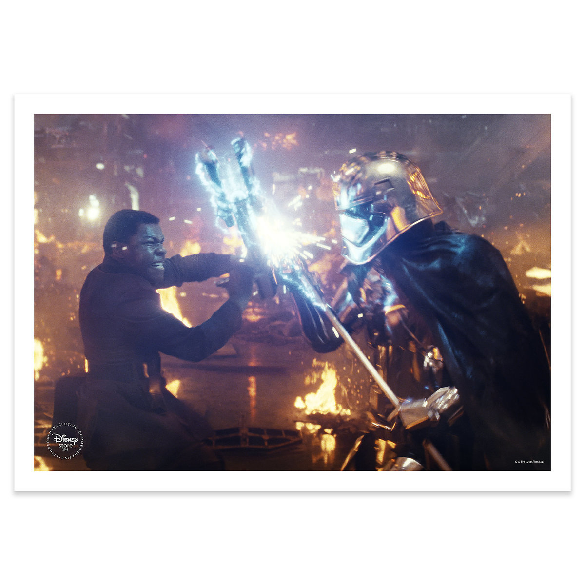 TLJ Blu-ray Multi-Screen Edition with FREE Lithograph Set 5