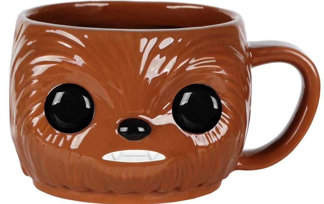 New Last Jedi Funko Pop! Chewbacca Ceramic Mug available on Walmart.com