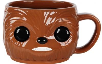 New Last Jedi Funko Pop! Chewbacca Ceramic Mug available on Amazon.com
