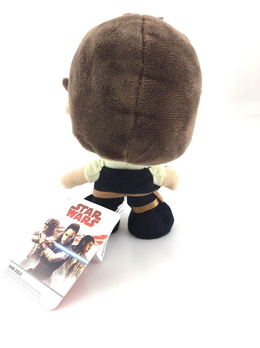 TLJ Han Solo Character Plush Toy 2