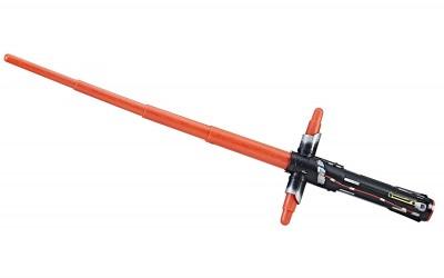 New Last Jedi Kylo Ren BladeBuilders Extendable Lightsaber available on Amazon.com