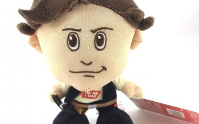 New Last Jedi Han Solo Character Plush Toy available on Amazon.com