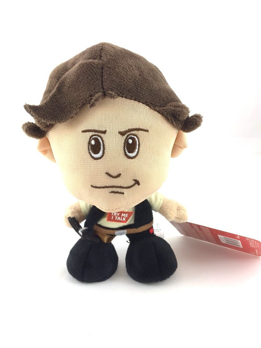 TLJ Han Solo Character Plush Toy 1