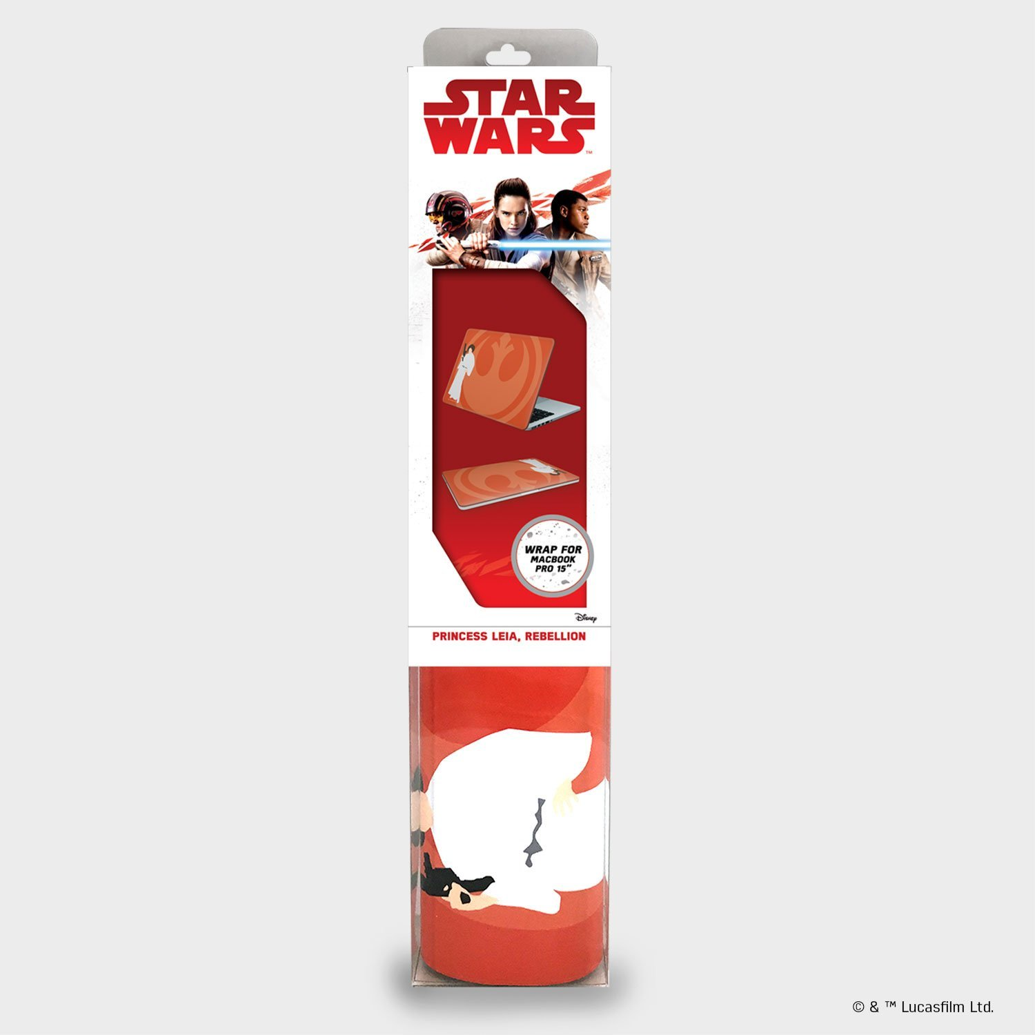 TLJ Princess Leia, Rebellion Laptop Wrap 1