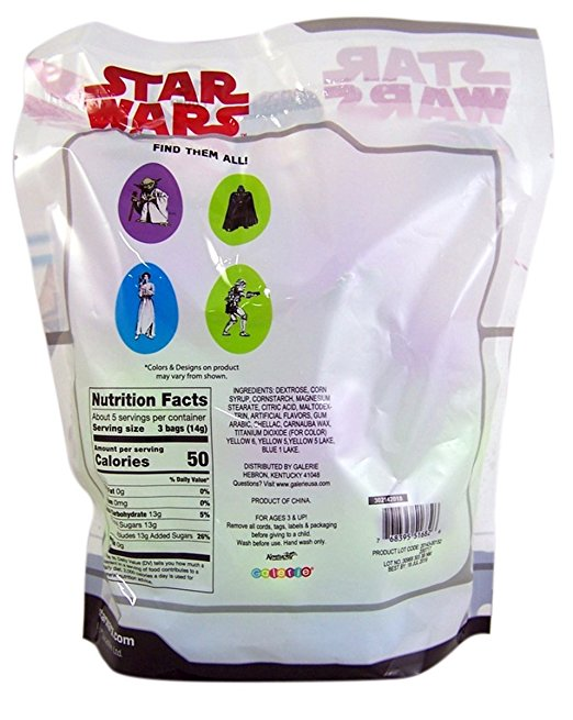 TLJ Candy Filled Easter Eggs Pack 2