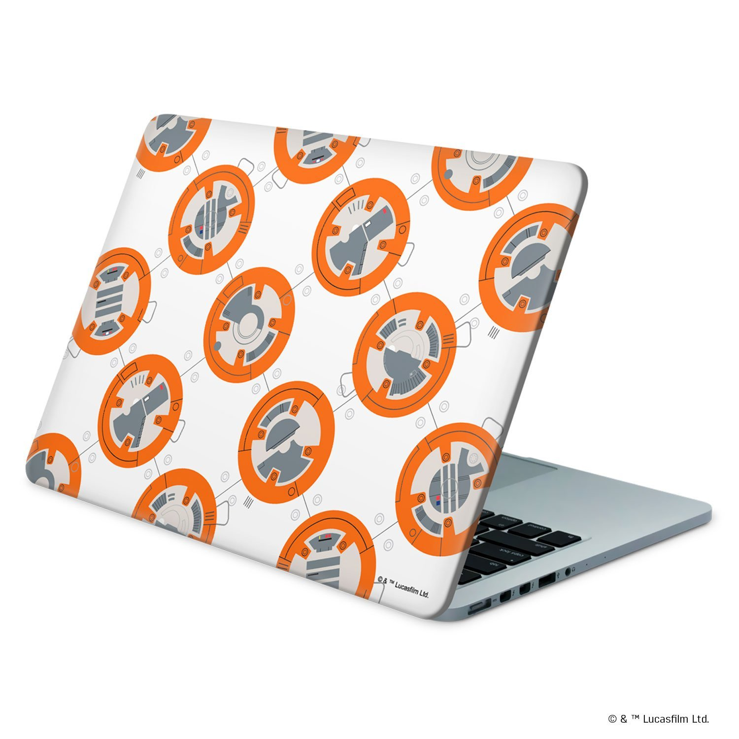 TLJ BB-8 Pattern Laptop Wrap 3