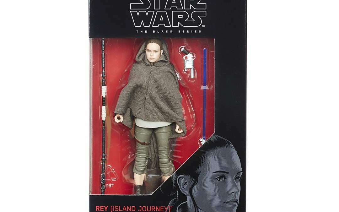 New Last Jedi Back Series Rey (Island Journey) Figure available on Amazon.com