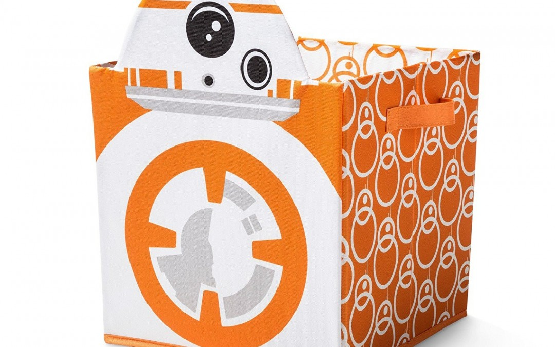 New Last Jedi BB-8 Utility Storage Bin available on Amazon.com