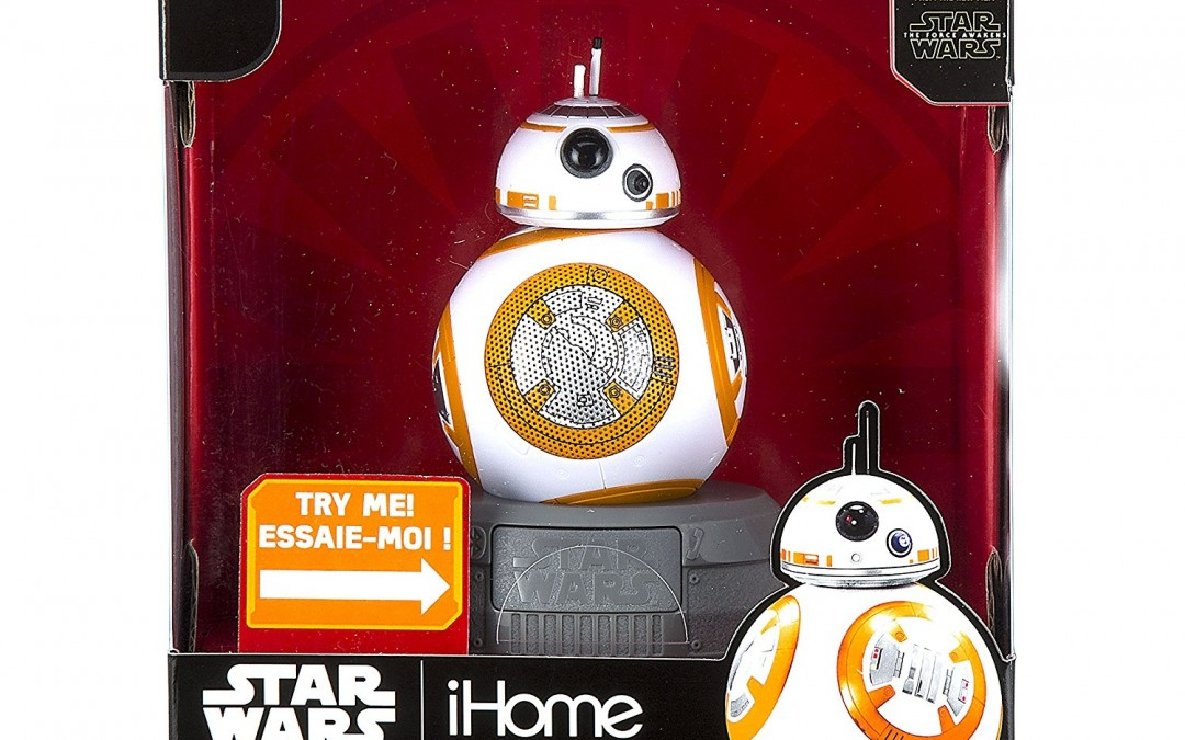 New Force Awakens BB-8 Bluetooth Speaker available on Amazon.com
